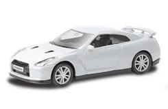 UF 3inch Die Cast Nissan GT-R White - 344013w