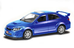 3inch Die Cast Subaru WRX Sti - 344014b