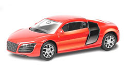 UF 3inch Die Cast Audi R8 Red - 344996r