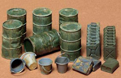 Tamiya 1/35 Jerry Can Set - 35026