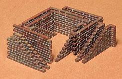 Tamiya 1/35 Brick Wall Set - 35028