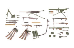 Tamiya 1/35 US Infantry Weapons Set - 35121