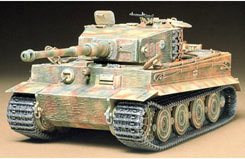 Tamiya 1/35 Tiger Late Version Kit - 35146
