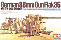 Tamiya 1/35 German 88mm Gun Falk 36 - 35283