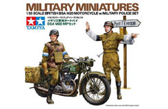 1/35 Military Police Motorcycle Set - 35316