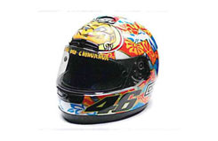 1:8 AGV Helmet - V.Rossi GP 2001 - 397010076