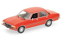1:43 Opel Rekord D 1975 - Red - 400044004