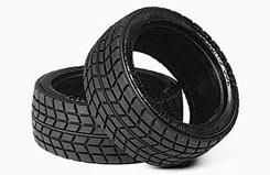 Tamiya 1/10 Treaded Racing Tyres (P - 50419