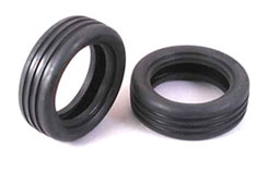 Tamiya 1/10 Grooved Front Tyre Pair - 51207