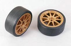 Tamiya Drift Type D Wheels (Pair) - 51219