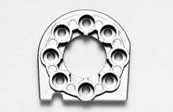 Tt01 Metal Motor Mount - 53666