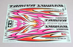 Tamiya Tribal Flame Marking Sticker - 53840