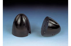 3.1/2ins(89mm)-2 BL BLACK SPINNER - 5507360
