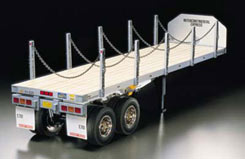 Tamiya 1/14 Flatbed Semi-Trailer Ki - 56306