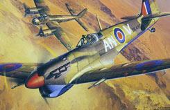 1/48 Spitfire Mkvb Trop - 61035