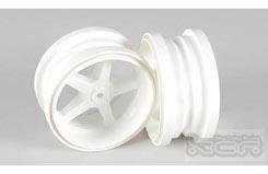 Standard White Wheels Pr - 6105