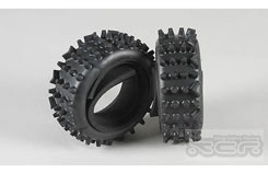 Super-Grip Knobbed Tyres S Ins (2) - 6224