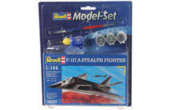 1/144 F-117A Stealth Fighter Model - 64037