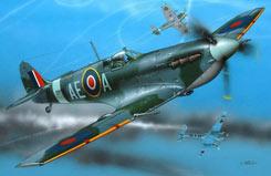 1/72 Supermarine Spitfire Mkv Model - 64164