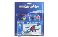 1/72 Fokker Dvii Model Set - 64194