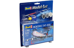 1/390 Boeing 747-200 Model Set - 64210