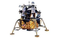 1/100 Apollo Lunar Eagle Model Set - 64832