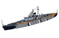 1/1200 Bismarck German Battleship - 65802