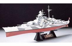 Tamiya 1/350 Tirpitz with stand - 78015