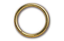 Brass Ring 9X1Mm (Pk30) - 80068