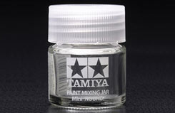 Tamiya Paint Mixing Pot (Glass) - 81044