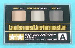 Tamiya Weathering Master Set A - 87079