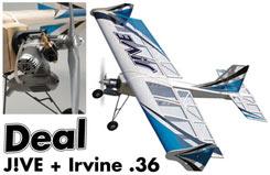 Jive Funfly ARTF W/Irvine 36 Ring - a-artf6716d