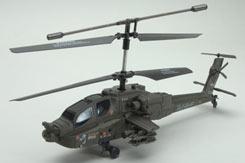 Udi Apache 2.4GHz 3ch Heli - a-u10