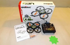 Udi UFO Quadcopter 2.4GHz RTR - a-u816a-ds