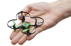 Udi Nano Quad 2.4GHz Green - a-u839-g