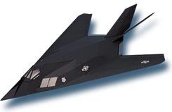 F117A Stealth Glider Kit - a-ww06