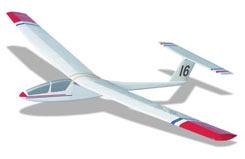 Kestrel Glider Kit - a-ww16