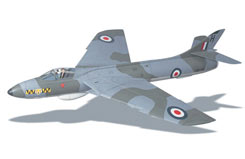 Hawker Hunter Edf Kit - a-ww33