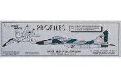 Mig 29 Fulcrum Profile Kit - a-ww421