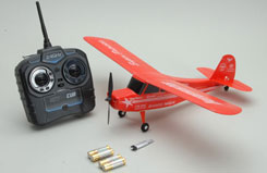 ZT Model Sky Cub Red 2.4GHz RTF - a-zt04702