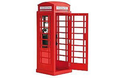 London Red Phone Cabin - al20320