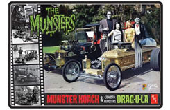 1/24 Munster/Dragula Tin - Kit - amt619