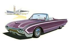 1962 Ford Thunderbird - amt682