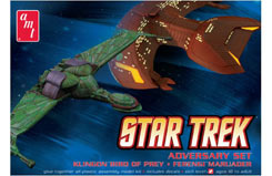 2 Pc Adversary Set Klingon - amt752