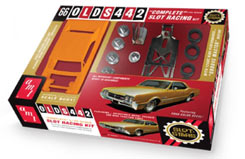 1966 Oldmobile 442 Slot Car - amt785
