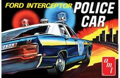 Ford Galaxie Interceptor Police Car - amt788
