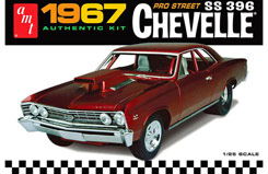 1:25 1967 Chevy Chevelle Pro Street - amt876