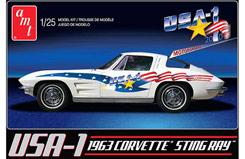 1:25 USA-1 1963 Chevy Corvette - amt909