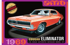 1:25 1969 Mercury Cougar - Orange - amt912