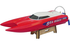 Offshore Sea Rider RTR - Red/2.4Ghz - b-js-9302rr-2-4g